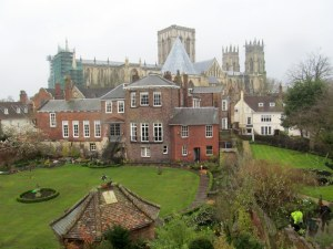 York Minster as seen from the City Walls