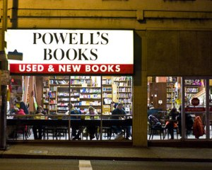 My go-to comfort zone, the warm embrace that infused me with the energy to zip around the rest of the things that good ol' Portland had to offer, the thing I miss the most -- Powell's Books