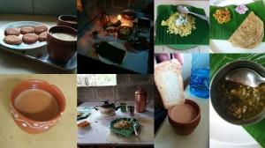 Authentic home-cooked Maharashtrian fare - hot piping masala chai, poha, sabudaana khichidi, pithla bhakri, vada pav and yummy daal and sabjis!