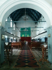 St.Francis Church - Vasco de Gama's first resting place. Now in a state of minimal upkeep.