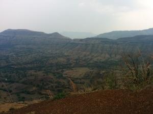 Panchgani - vast plateaus nestled in the Sahyadris.