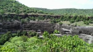 Ajanta's sylvan setting