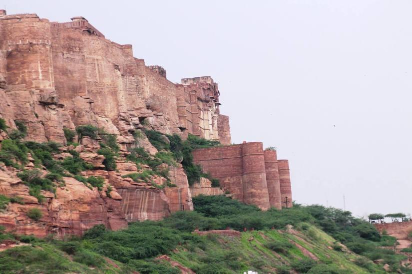 Mehrangarh Fort, Jodhpur Massive and medieval, well preserved interiors that harbour Rathore legends