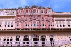 Jaipur, pretty in pink