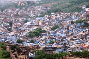 Jodhpur's Blue Quarter Brahmagiri, the Brahmin's mark of colour