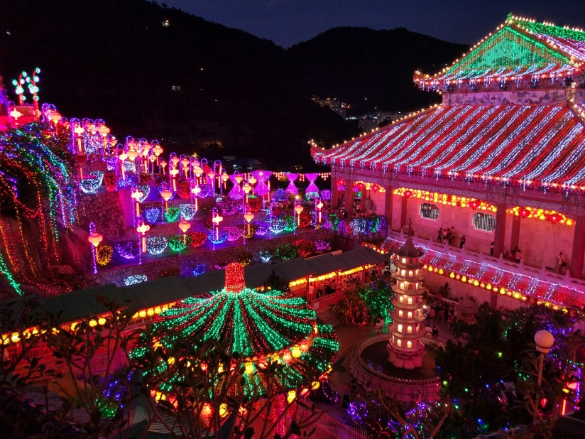 Kek Lok Si, in all its glory during Chinese New Year celebrations